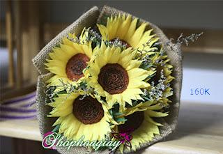 hoa hướng dương giấy
