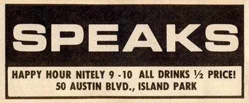 Speaks rock club in Island Park, Long Island, New York