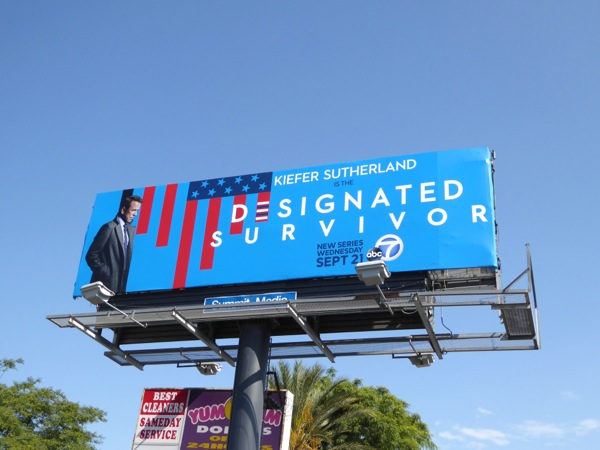 Designated Survivor billboard