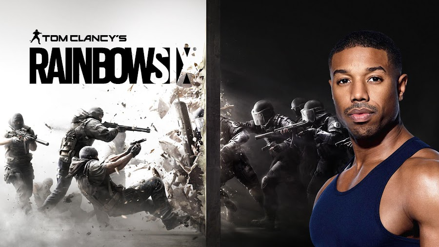 michael b jordan john clark rainbow six movie