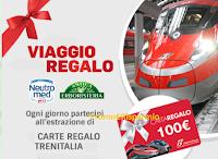 Logo Antica Erboristeria e Neutromed: vinci 366 carte regalo Trenitalia da 100€