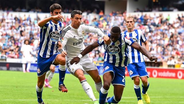 Ver Deportivo La Coruña vs Real Madrid en directo