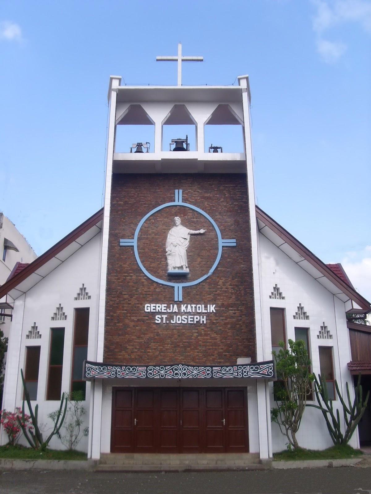 Santo Fransiskus Asisi Gereja Katolik Paroki Samosir Island Gambar Panoramio