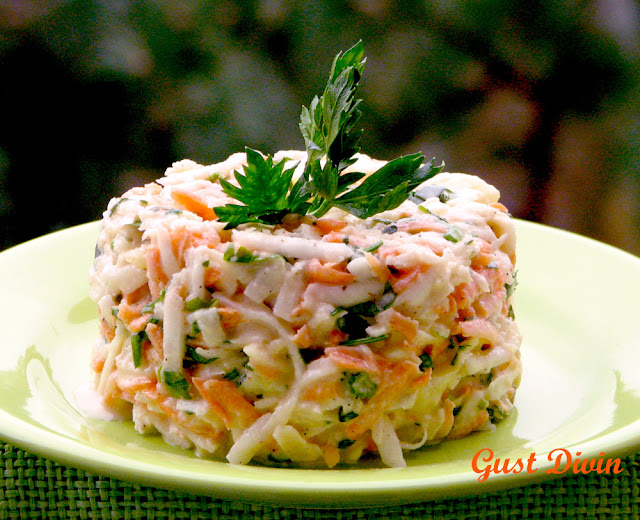 salata cu telina si mar