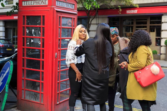 mercy aigbe modelling contract london
