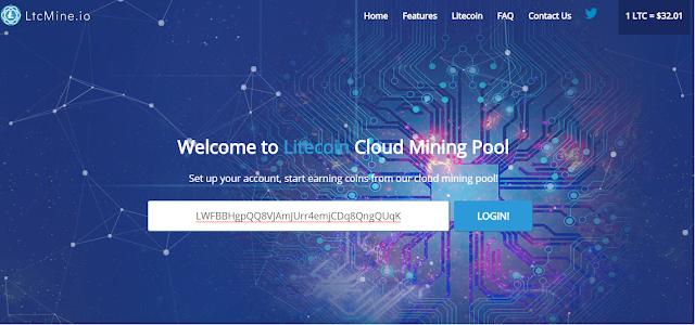 Đào Litecoin miễn phí với LTCMine