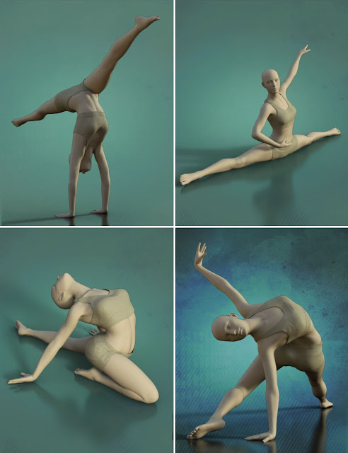 Ballet Poses for Genesis 3 and 8 Female