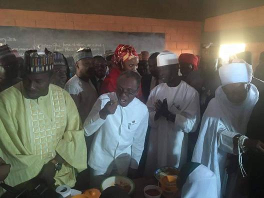 el rufai feeding kaduna primary school