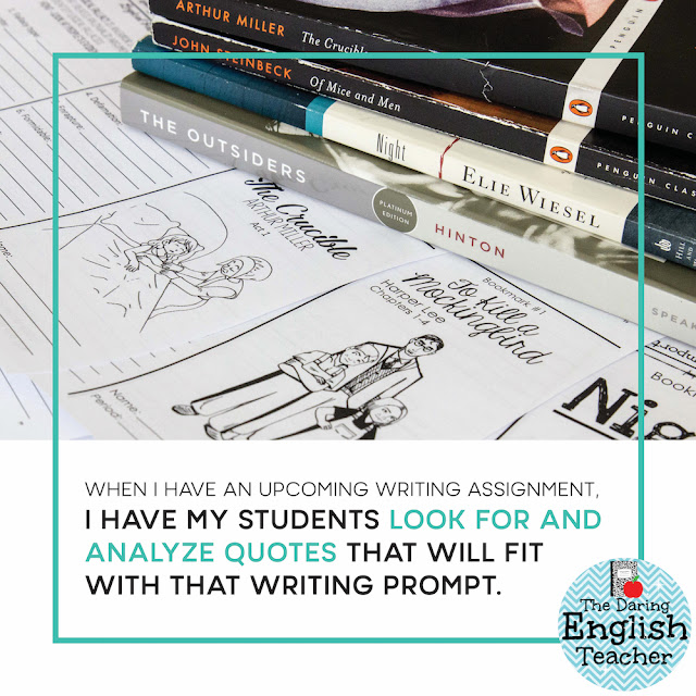 """In order to include many elements into my novel unit instruction and provide consistency for my students, I teach every novel with interactive bookmarks."""