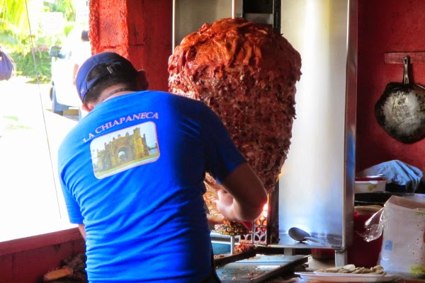 Is it for Gyro or Tacos al Pastor? I can't tell! (Answer: It's Mexican!)