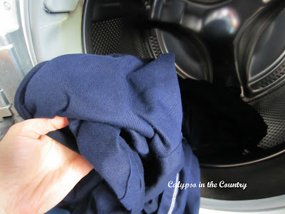 How to Dye a Slipcover - Calypso in the Country Blog