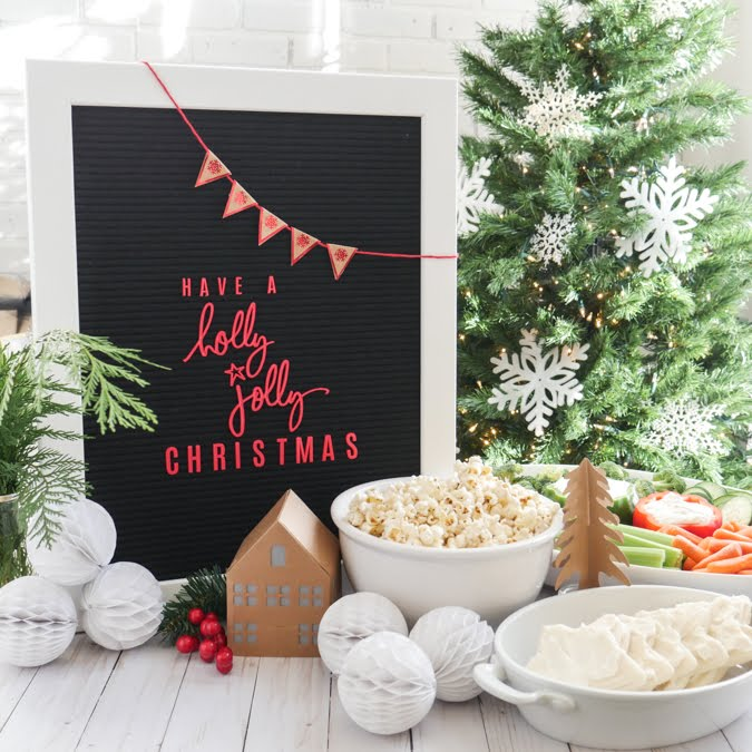 How To Throw a Holly Jolly Heidi Swapp Party by Jamie Pate | @jamiepate for @heidiswapp