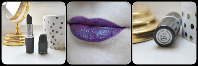 MAC Cosmetics, Mac, Lipstick, Lippenstift, Swatch, Instigator, Matte, Swatches, Tragebild