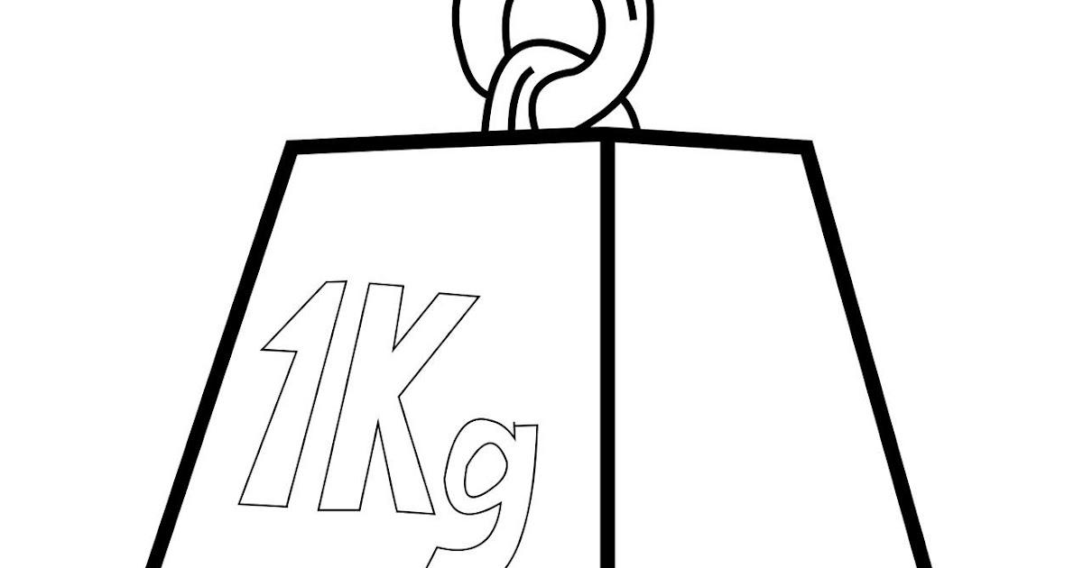 """Imagen De Español Para Colorear: Español Con """"K"""": Kilo"""