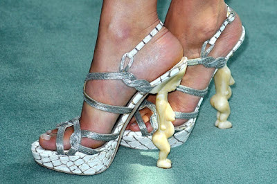 Would you wear this Christian Dior goddess shoes?