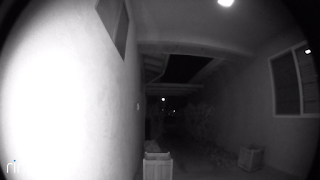 image of ring doorbell camera view at night 2