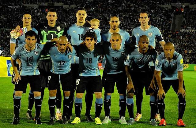 Formación de Uruguay ante Chile, Clasificatorias Rusia 2018, 17 de noviembre de 2015