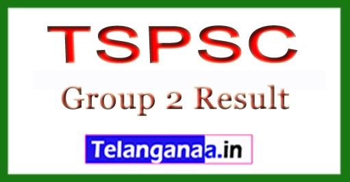 Telangana TSPSC Group 2 Result 2018