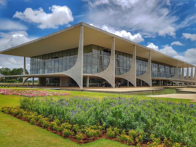 Visitando o Palácio do Planalto em Brasília