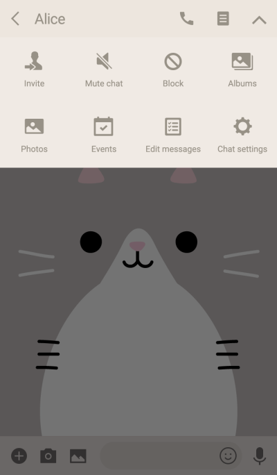 FACE (silver tabby cat)