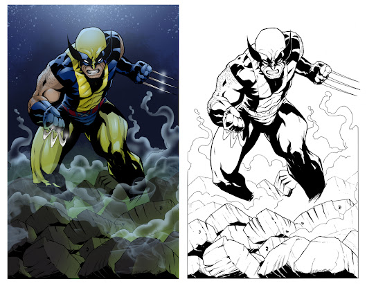 Yellow and Blue make Wolverine.