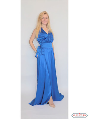Vestido azul modernos