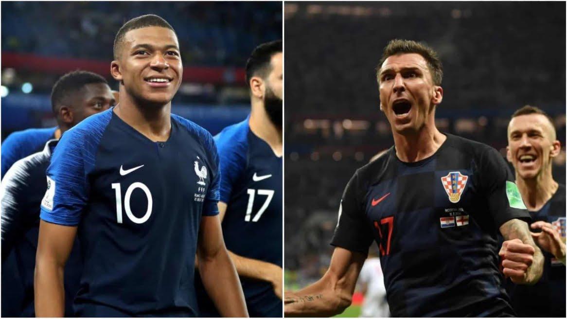 Dove Vedere FRANCIA CROAZIA Streaming Rojadirecta e Diretta TV Oggi | Finale Mondiali Calcio Russia 2018.