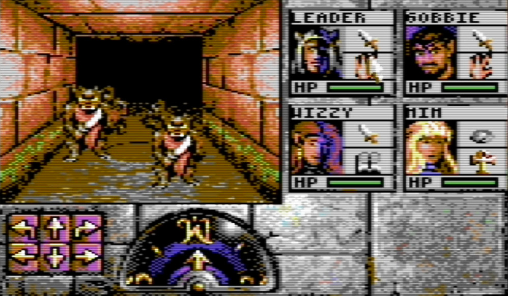 Indie Retro News: Eye of the Beholder C64 - Work continues