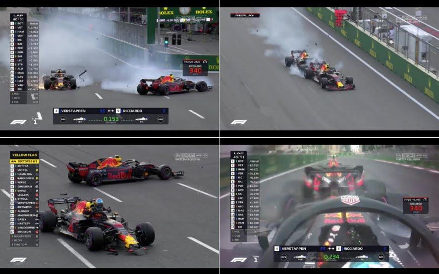 Hamilton vince nella lotteria di Baku davanti a Raikkonen Sainz e Vettel | Motori Formula 1