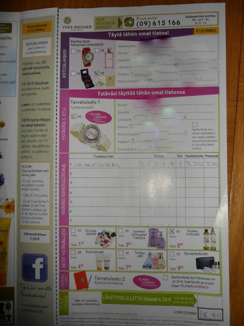 Lahjakortin lähettäminen postissa