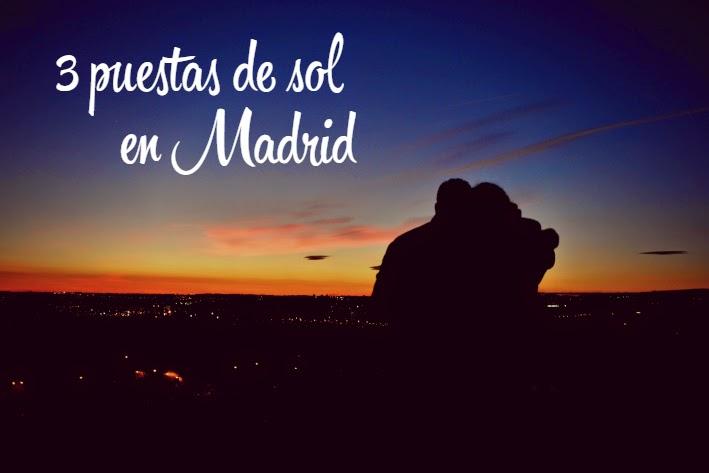 3 puestas de sol en Madrid