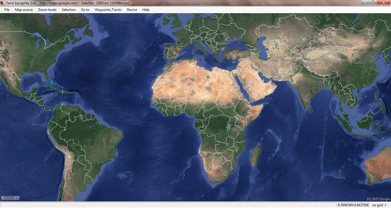 Terra Earth Map.Geospatial Solutions Expert Downloading High Resolution Satellite