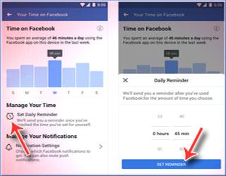 Cara Menggunakan Fitur Pengingat Waktu Di Facebook