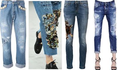 moda donna jeans autunno-inverno 2016-17