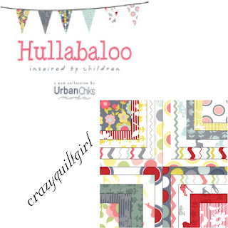 Moda HULLABALOO Quilt Fabric by Urban Chiks