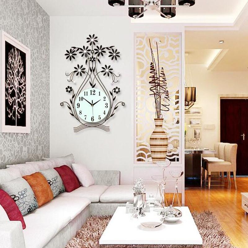 Desain Dinding Ruang Tamu Bernuansa Elegan