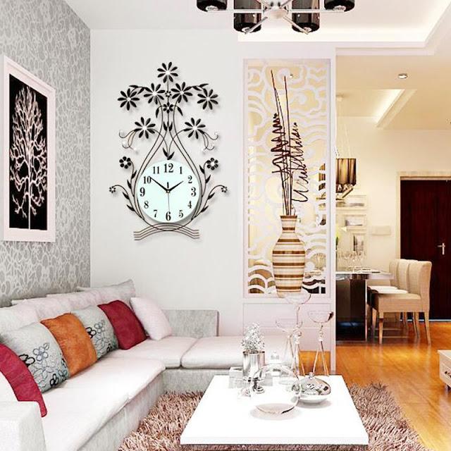 dinding ruang tamu