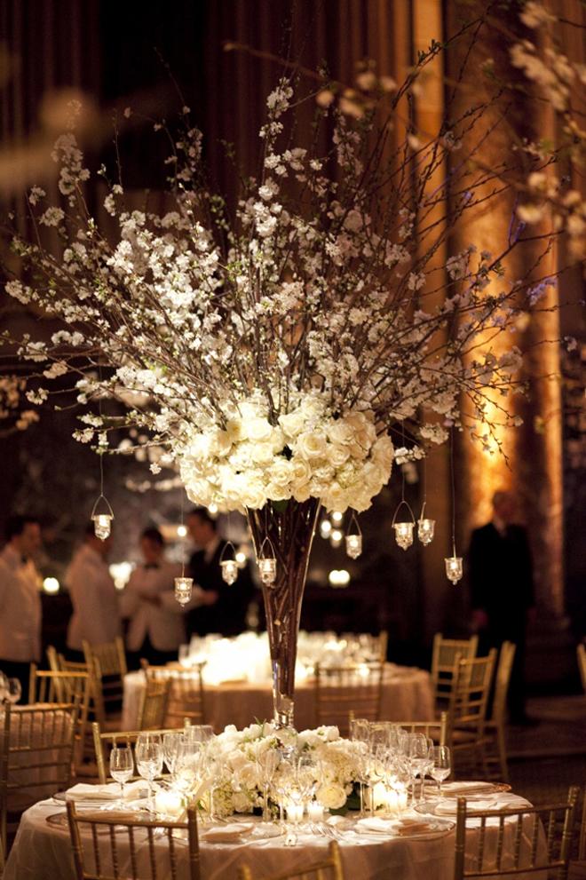 25 stunning wedding centerpieces best of 2012 belle the magazine junglespirit Choice Image