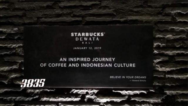 StarBucks Dewata Reserve Bali