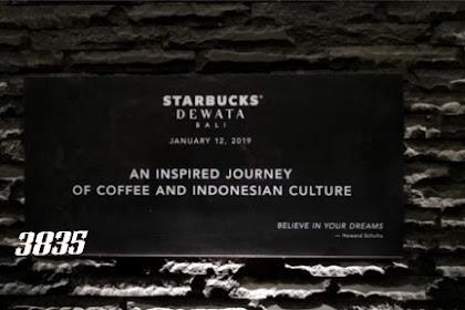 Starbucks Dewata Reserve Gerai Kopi Terbesar di Asia Tenggara