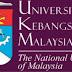 JAWATAN KOSONG UNIVERSITI KEBANGSAAN MALAYSIA - 12 JAN 2017