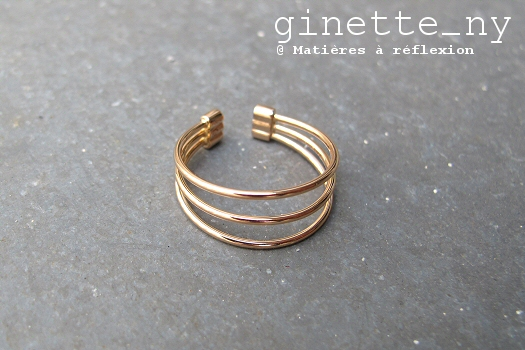 Ginette NY bague