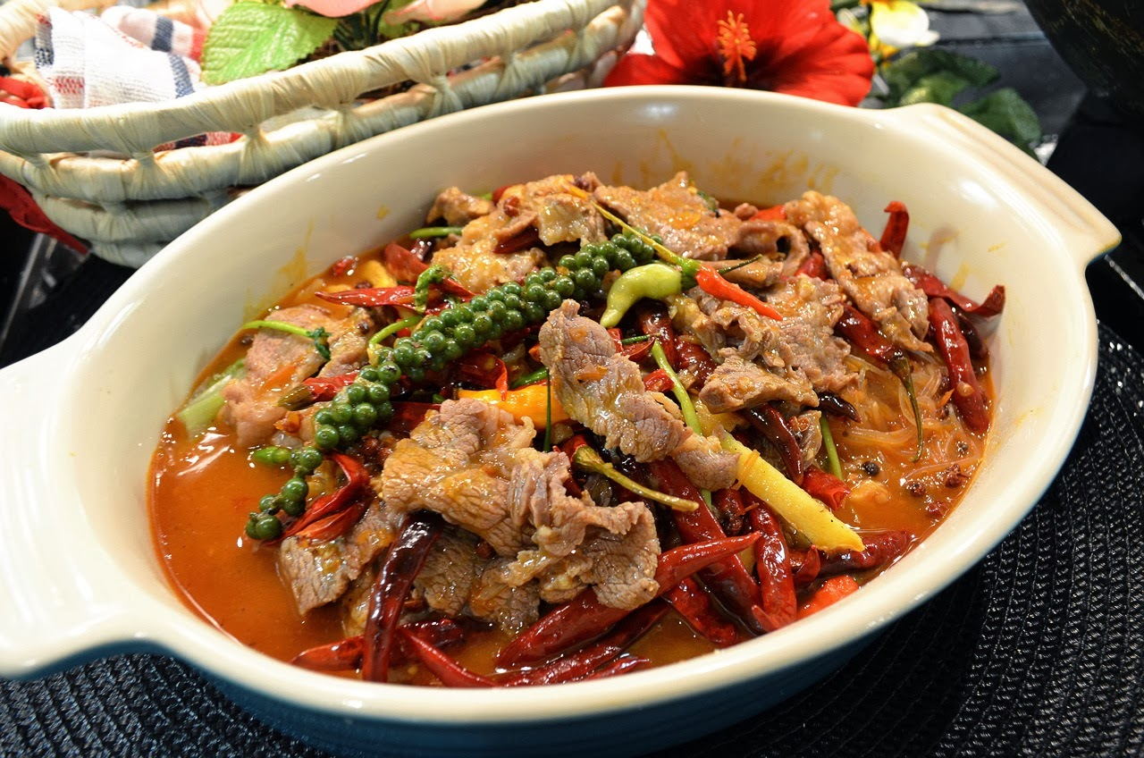 Fen's Cooking: 麻辣水煮牛肉