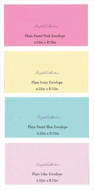 envelope choices, plain pastel pink envelope, plain ivory envelope, plain pastel blue envelope, plain lilac envelope, plain envelope 80g, red, pink, beige, ivory, purple, lilac, light blue, white, long envelope, wallet, 4.5 x 8.75 inch, kuala lumpur, selangor, malaysia, JB, johor bahru, Singapore, online purchase, buy, sale, sell