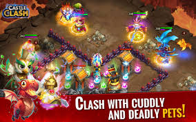 Download Castle Clash Rise of Beasts V1.3.16 MOD APK + DATA OBB