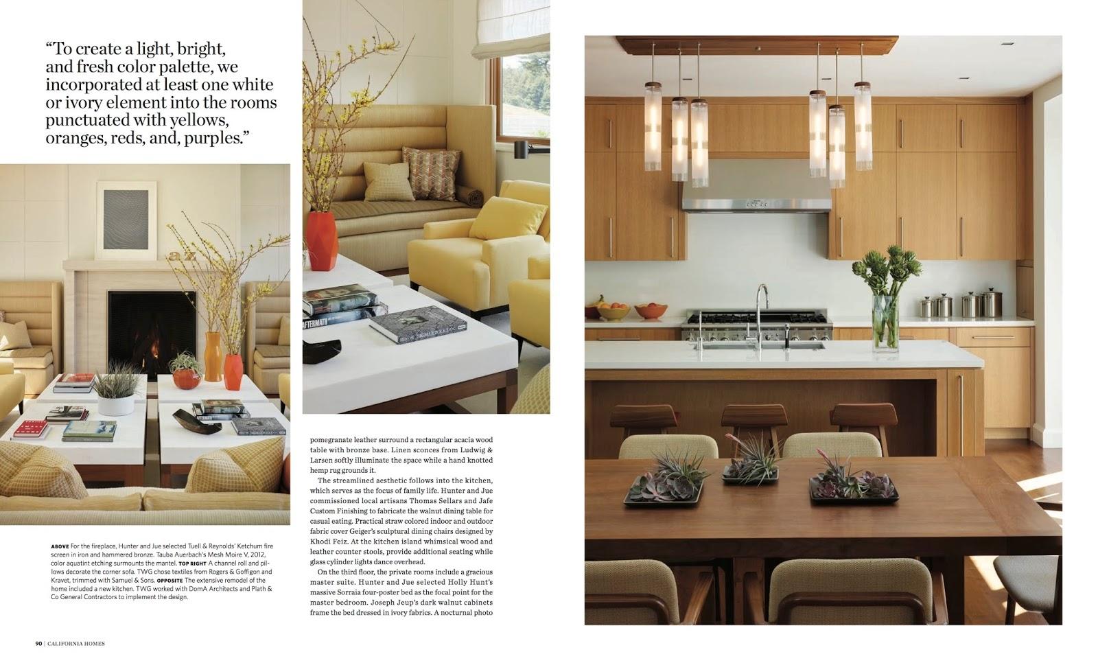 Classic Symmetry California Homes Magazine Spring 2017