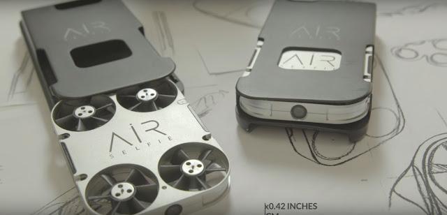 AirSelfie : Ucapkan Selamat Tinggal Untuk Tongsis, Kini Hadir Drone Mini Yang Punya Fitur Canggih dan Cocok Untuk Kebutuhan Fotografi
