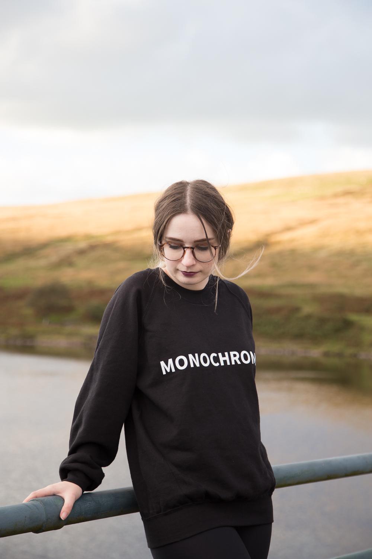 The Monochrome Slogan Sweatshirt OOTD