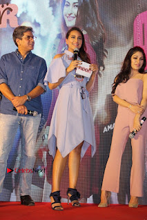 Actress Sonakshi Sinha at the Song Launch of Film Noor  0014.JPG