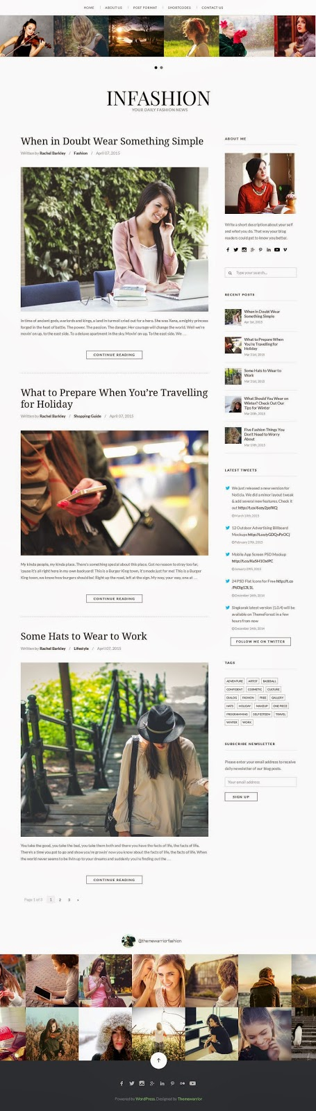 Best Responsive WordPress Blog Theme